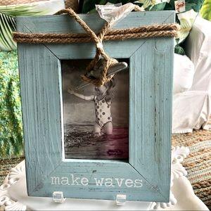 Make Waves Beach Photo Frame